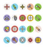 Weapons Vector Icons 1 Royalty Free Stock Image