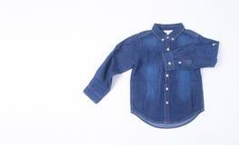 wear för barn s Barns kläder på bakgrund wear för barn s Royaltyfri Bild