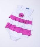wear för barn s Barns kläder på bakgrund wear för barn s Royaltyfri Foto