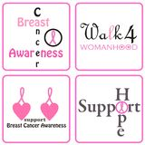 Wear Pink. Pink ribbon for Breast cancer Awareness Royalty Free Stock Photos