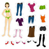 Wear To Doll Set Royalty Free Stock Photo