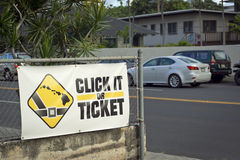 Wear your seat belt Royalty Free Stock Photography