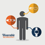 Wearable design Stock Photography