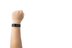 Wearable Sports tracker Royalty Free Stock Photo