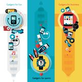 Wearable Technology Banners Vertical Stock Photography