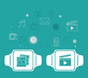 Wearable technology design Stock Photography