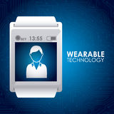 Wearable technology Stock Photo