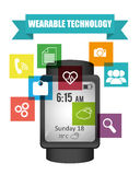 Wearable technology Royalty Free Stock Photos
