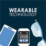 Wearable technology Royalty Free Stock Images