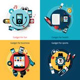 Wearable Technology Set Stock Photo