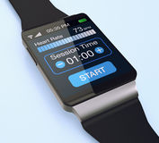 Wearable technology, smartwatch Royalty Free Stock Photo