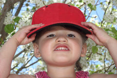 Wearing Another Hat Stock Image