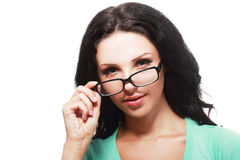 Wearing Eye Glasses Stock Photos