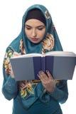 Wearing femminile autore un Hijab Immagini Stock Libere da Diritti