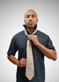 wearing tie Royalty Free Stock Photo