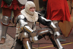 Weary knight Royalty Free Stock Images