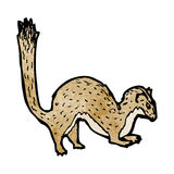 Weasel illustration Stock Photo