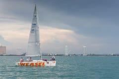 Weasel Platu  class sailing Royalty Free Stock Image
