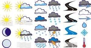 Weather Royalty Free Stock Photography
