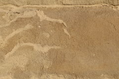 Weather alteration on a stone. Weathered surface on a decorative stone Royalty Free Stock Photo