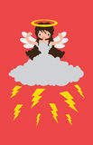Weather Angel Thunder Stock Photos