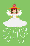 Weather Angel windy Royalty Free Stock Photos