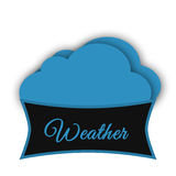 Weather app Logo Royalty Free Stock Photo