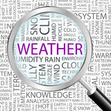 WEATHER. Royalty Free Stock Image