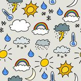 Weather background Stock Image