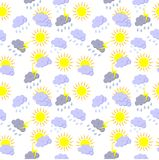 Weather background Royalty Free Stock Images
