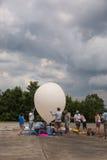 Weather Balloon Launch Stock Image