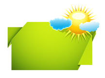 Weather banner Royalty Free Stock Photo