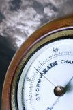 Weather Barometer Indicating Bad Weather Stock Photos