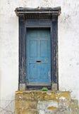 The weather beaten door Stock Photography