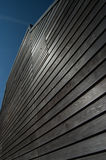 Weather Boarding on Fishing Shed in Norfolk, England Royalty Free Stock Photos