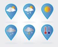 Weather bubbles Stock Photos