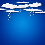 Weather cartoon Royalty Free Stock Images