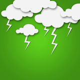 Weather cartoon Royalty Free Stock Photo