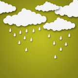 Weather cartoon Royalty Free Stock Photos