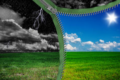 Weather changes Royalty Free Stock Photo
