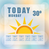 Weather concept Royalty Free Stock Photography