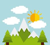 Weather concept design Royalty Free Stock Image