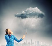 Weather concept Royalty Free Stock Photos