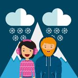 Weather condition design. Illustration eps10 graphic royalty free illustration