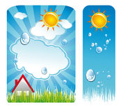 Weather Delicate Backgrounds Stock Photo