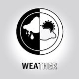 Weather design Royalty Free Stock Images
