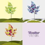 Weather design Stock Photography