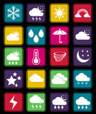 Weather effect flat icon Stock Photo