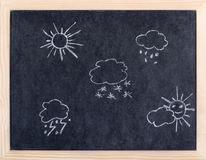 Weather element Stock Image