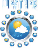 Weather forecast Royalty Free Stock Images